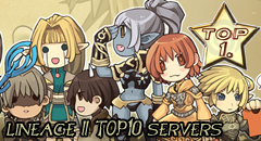 Lineage II Top10 servers